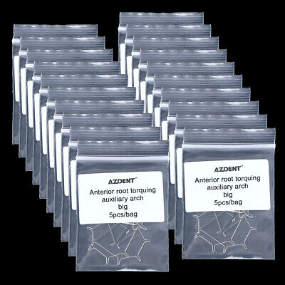 20X AZ Dental Orthodontic Anterior Root Torquing Auxiliary Arch Big 5pcs/pack
