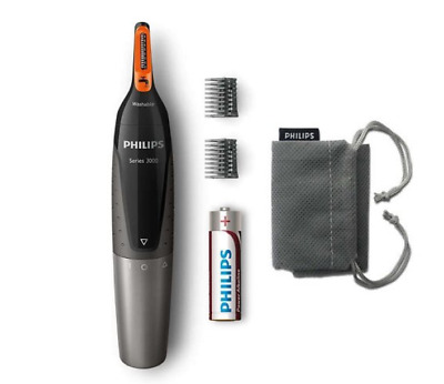 Philips Series 3000 Battery-Operated Nose, Ear & Eyebrow Trimmer - Showerproof