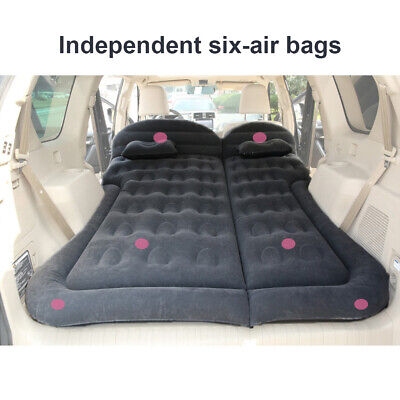 6x Car SUV Air Inflatable Mattress Bed Camping Travel Rest Foldable Protable