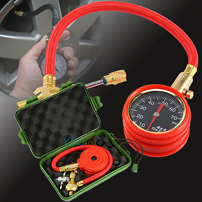 New Digital Air Pressure Gauge Tire Tyre for Truck Car Motorcycle Bike 0-70 PSI
