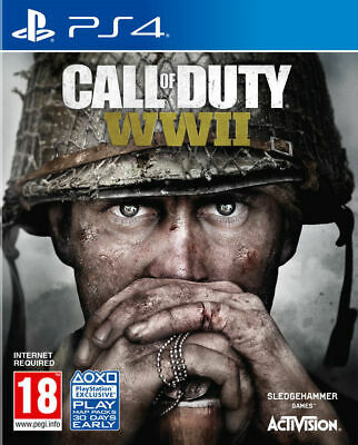 Call Of Duty World War II 2 WWII PS4 PRESTINE-1st class Fast and Free Delivery