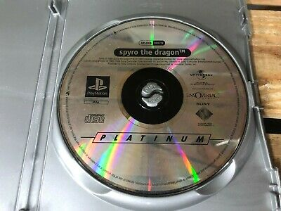 Spyro the Dragon Disc Only Sony Playstation 1 Game PS1 listing 3
