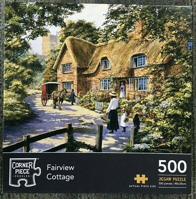 Fairview Cottage - 500 piece Jigsaw Puzzle - Corner Piece Puzzles