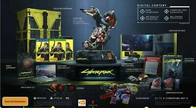 Cyberpunk 2077 Collector's Edition PS4 New AUS PAL Release 16/04/2020