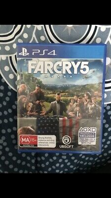 Far Cry 5 PlayStation 4 PS4 Brand New Game