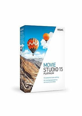 VEGAS Movie Studio 15 Platinum - Multilangue