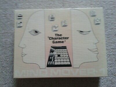 The 'character game' mind mover 1974 Version française Très rare