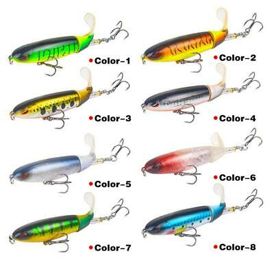 3D Eyes With Tackle Artificial Fish Baits Fishing Lure WT88 04