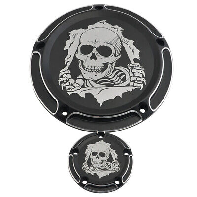 5 Holes Derby Cover&timer für Harley Softail Dyna Road King Electra Glide