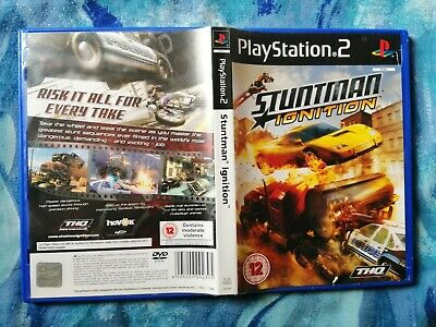 PS2 PLAYSTATION 2 Pal Game STUNTMAN IGNITION with Box Instructions