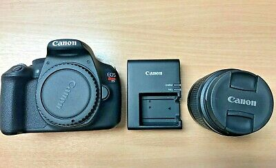 Canon EOS Rebel T5 DSLR Camera DS126491 with Lens EFS 18-55mm