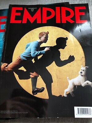 Empire 258 December 2010. TINTIN. BLACK SWAN. Limited Edition Subscriber Cover.