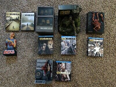 The Walking Dead Limited Editions Bluray collection (Seasons 1-6)