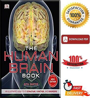 THE HUMAN BRAIN Book: An Illustrated Guide to Its Structure