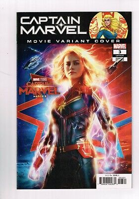 "Captain Marvel Issue #3 ""Movie Variant Cover"" (1st Print 2019) NEAR MINT"