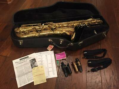 1970 Selmer (Paris) Mark VI Bari Sax Bundle