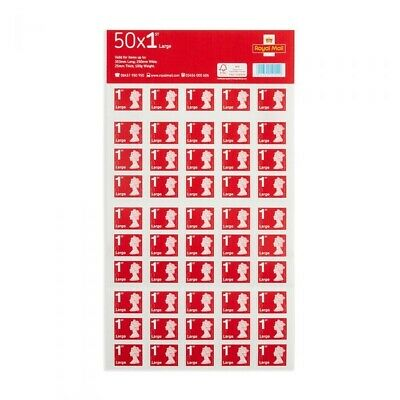 50 1st CLASS LARGE LETTER Stamps-  SELF ADHESIVE POSTAGE STAMPS-letters parcel
