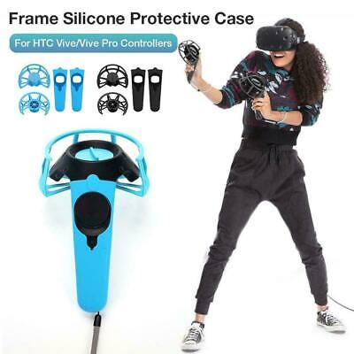 Anti-fall Protective Frame Silicone BLACK Case for HTC Vive Pro  Controller