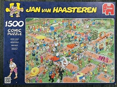 Jan Van Haasteren - 1500 Piece Jigsaw - CRAZY GOLF