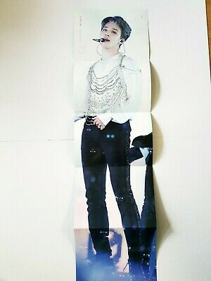 K-Pop Bts World Tour Dvd Love Yourself Seoul Official Limited Jimin Poster