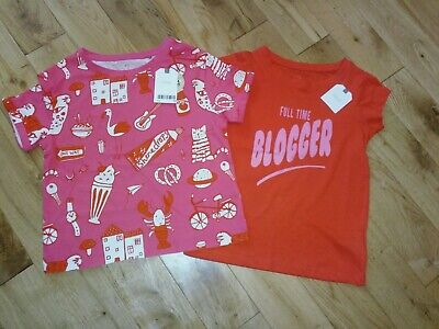 Next Girls T-Shirts age 4 Years BNWT lovely bundle