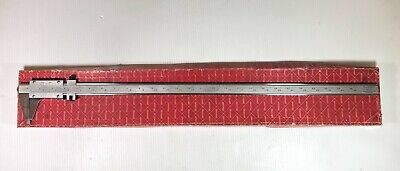 "Starrett No 123 Vernier 24"" Caliper .001"" Hardened & Stabilized Master Bar"