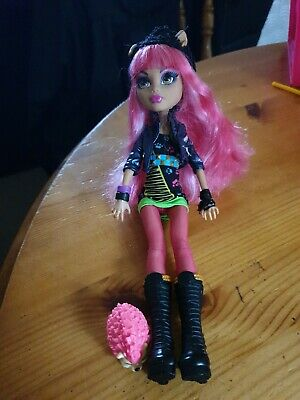 Monster High Howleen Wolf Doll 13 Wishes