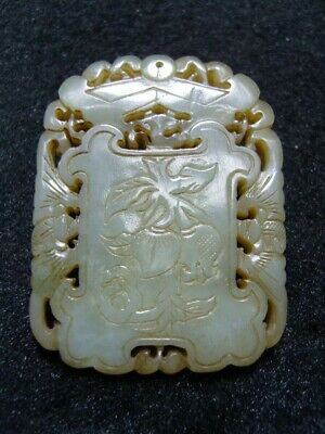 FINELY CARVED  CHINESE Jade Statue/ Pendant      1