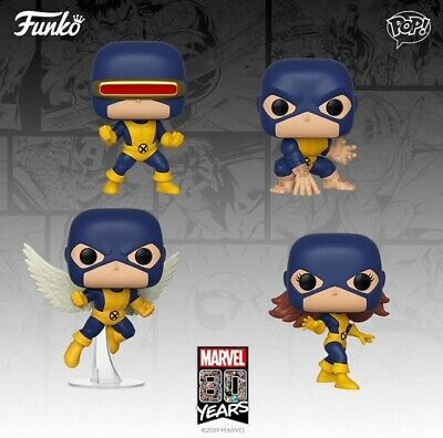 Funko Pop! Marvel 80th 1st Appearance Cyclops Angel Marvel Girl Beast PRE-ORDER