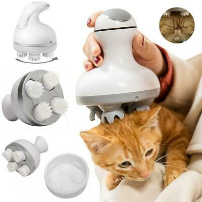 Cats Paw Head Electric Massager Roller Relaxation USB Charging Comfort