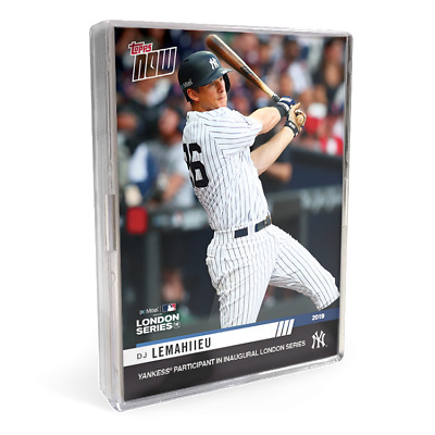 2019 New York Yankees MLB TOPPS NOW London Series 15 Cards YOU PICK PLAYERS