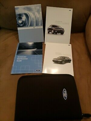 2008 ford taurus owners manual