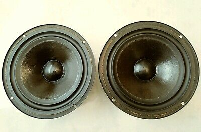 "Pair Celestion Ditton 250 8"" woofers, nice! Replacement speaker drivers"