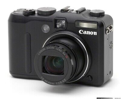Canon Powershot G9 12.1 MP Digital Camera w/Charger & Accessories - Great Cond.