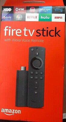 Amazon Fire TV Stick (2nd Gen) Streaming Media Player with Alexa Voice Remote