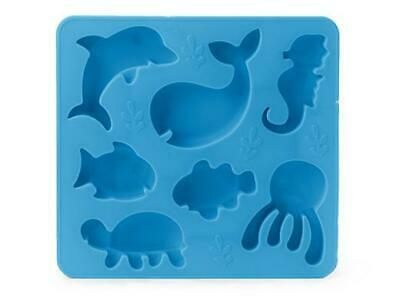 Brand New in Package Kikkerland Cool Science Silicone Ice Cube Tray E=MC2