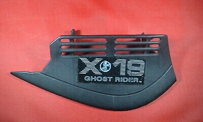 GI JOE Phantom X-19 1988 Left wing cover with sticker part