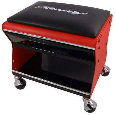 Neilsen Mechanic Creeper Mobile Work Chair Stool Trolley Seat with Drawer CT4150