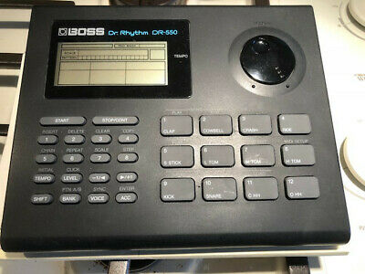 BOSS DR-550  DR RHYTHM DRUM MACHINE Manuals Included