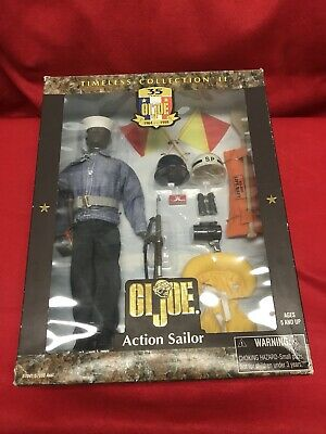 Hasbro GI Joe Timeless Collection Navy Action Sailor DENIM SHIRT 1//6 Scale LOOSE