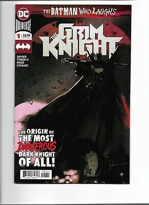 DC Comics The Batman Who Laughs: The Grim Knight #1 (2019) NM; One-Shot