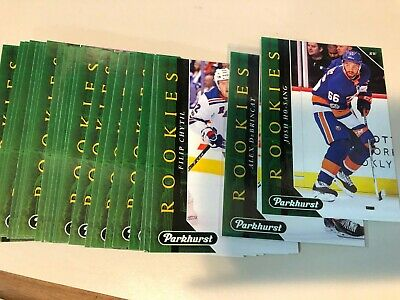 2017-18 UD PARKHURST Rookies GREEN  card u pick / finish / complete your set RC