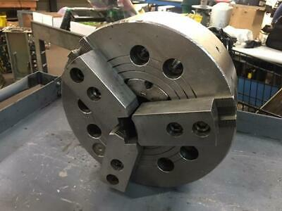 "10"" 3 Jaw Power Chuck, A2-8 Mounting, DON'T KNOW MANUFACTURER, Used, Warranty"