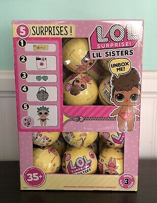 SOLD OUT, HTF- 1 LOL Surprise Doll SERIES 3 LIL SIS Ball FREE SHIPPING