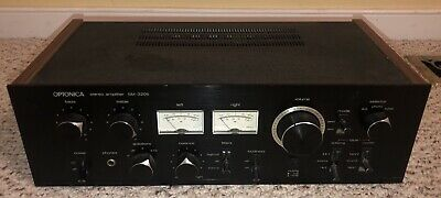 Vintage Sharp OPTONICA SM-3205 Stereo Amplifier 160 Watt Tested and Works Great