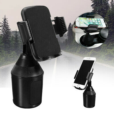 New Universal Adjustable Car Mount Cup Holder Cradle for Mobile Cell Phones uk