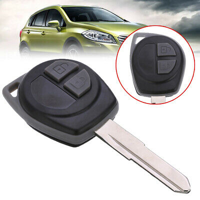 New For SUZUKI SX4 Swift + Button Pad Uncut Remote Key Shell Case Fob 2 Button