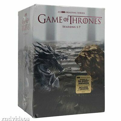 GAME OF THRONES: The Complete Seasons 1-7 DVD Set Season 1 2 3 4 5 6 7 ~NEW~