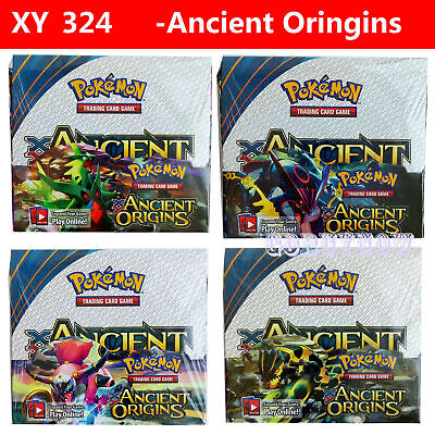 Pokemon TCG XY Ancient Origins Booster Box Children Game Party Game Gift