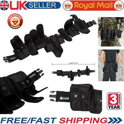 Police Security Guard Modular Enforcement Equipment Duty Belt Tactical Nylon NEW